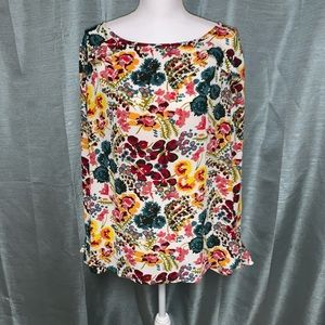 Loft blouse/tunic with long sleeve EUC